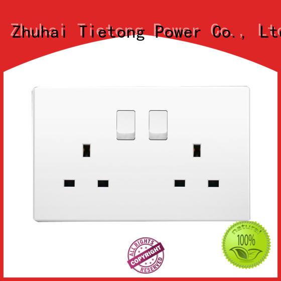LIUJIEGOU wall switch uk power socket wifi commercial