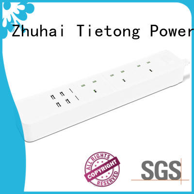 Two Colours UK Plug Standard Extension Socket