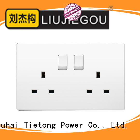 LIUJIEGOU UK standard electrical sockets uk oem hospital