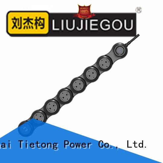 LIUJIEGOU latest power strip factory price school