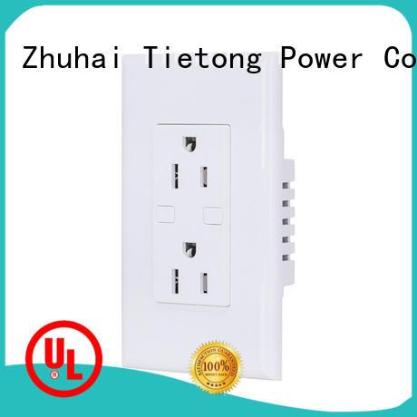 LIUJIEGOU standard power plugs and sockets factory price room