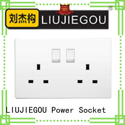 LIUJIEGOU High-quality uk plug socket manufacturers industrial