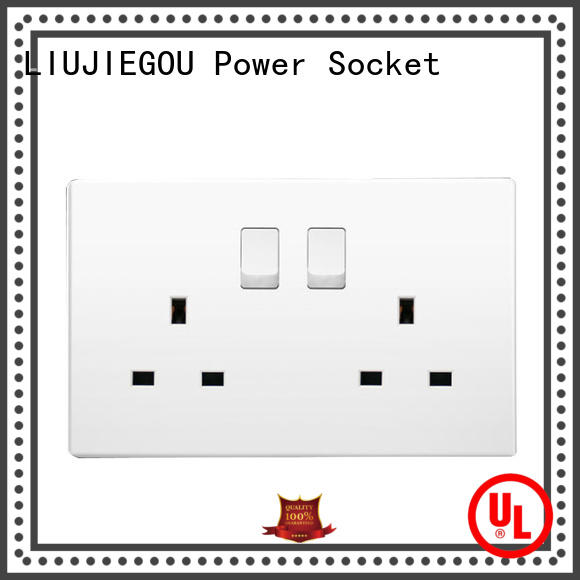 switch uk power socket supplier industrial LIUJIEGOU