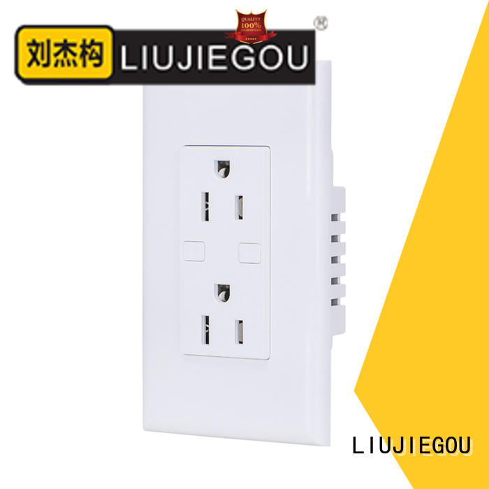 LIUJIEGOU power outlet american power socket 8 way room