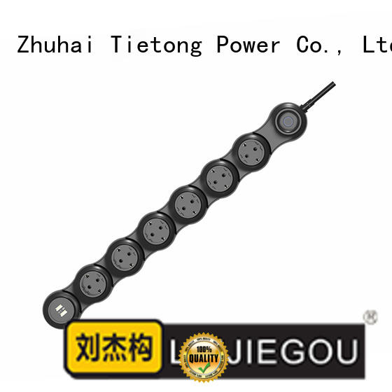 LIUJIEGOU cord outlet strip manufacture factory