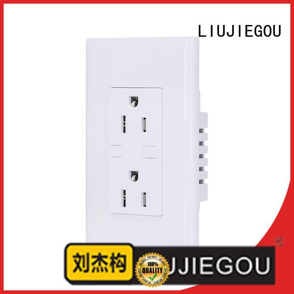 LIUJIEGOU wall plug and socket manufacturers home
