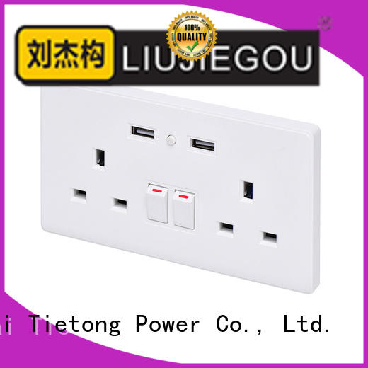 LIUJIEGOU socket uk plug socket supplier industrial
