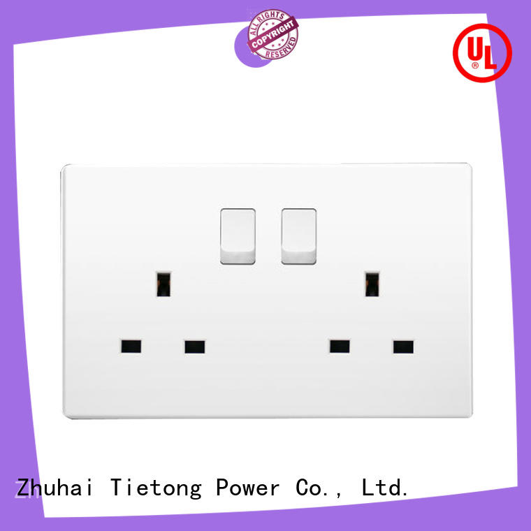 LIUJIEGOU british Standard electric socket double hospital