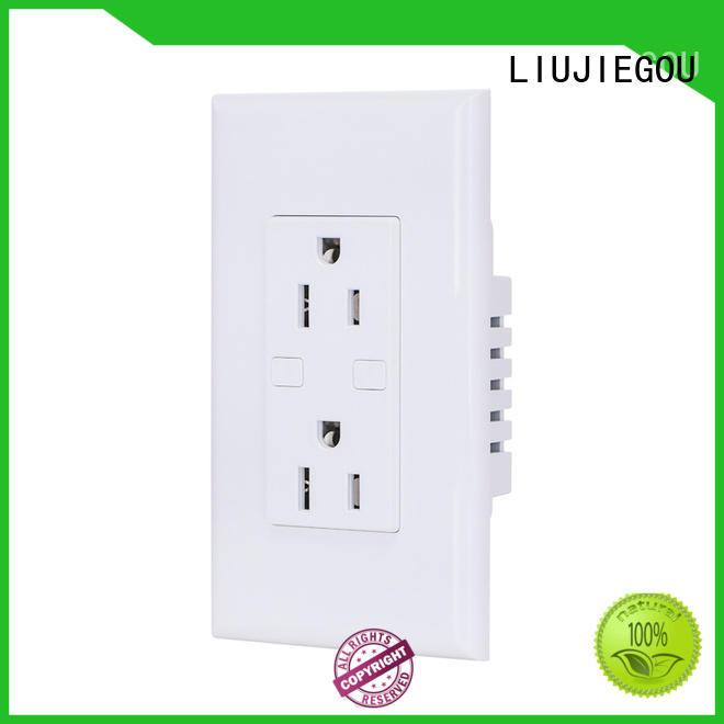 LIUJIEGOU standard german plug socket manufacturers home