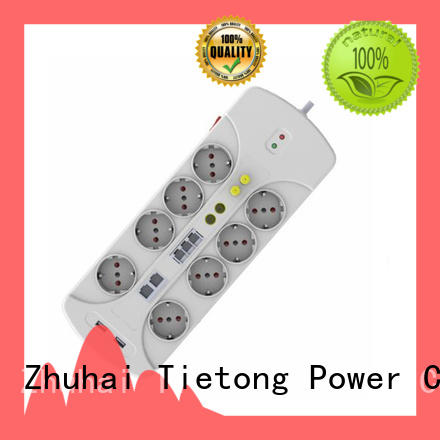 LIUJIEGOU way power strip France standard factory